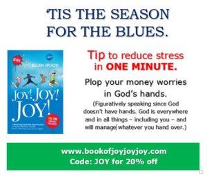 #2 SENT FB BOOST 12-8 Tw&Link12-9 blog 12-10-0A. Plop your money worries